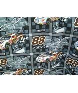 """Dale Jarrett Nascar Fabric 1 Yd 44"""" w 2002 #88 Ford UPS - $15.00"""