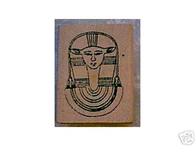 Hathor Egyptian rubber stamp cow god godess
