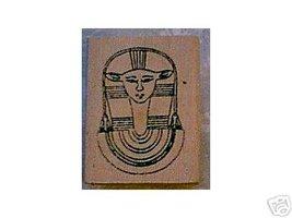 Hathor Egyptian rubber stamp cow god godess - $8.00
