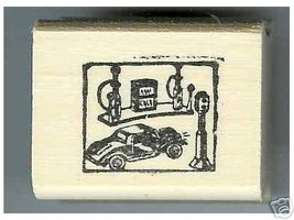 1930's Car Service Station rubber stamp - $6.00