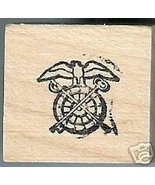 Army Quartermaster Corps Logo Rubber stamp Tiny - $4.00