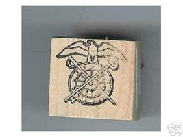 Army Quartermaster Corps Logo Rubber stamp - $5.00