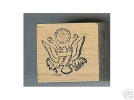 US Coat of Arms Logo Rubber stamp - $5.00