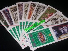 "Set Of 10 -- 1995 Shell Drive To The Super Bowl Game Cards "" - $52.00"
