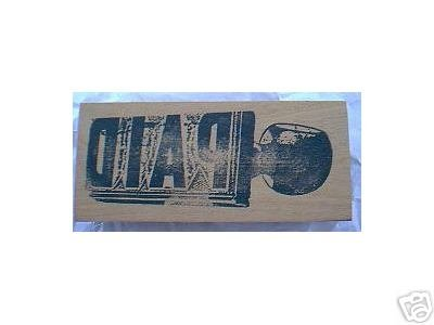 PAID backwards rubber stamp of stamp DIAP