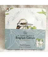 SNUGGLEPOT & CUDDLEPIE Set of Four Coasters May Gibbs Gammut Adventures NEW - $18.00