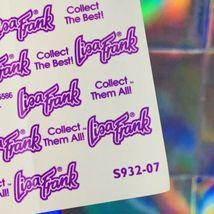 Lisa Frank Rare Rainbow Outline Sticker Sheet Complete Luv 2 Shop S932-07 HTF image 3