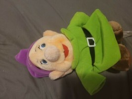 """the disney store canasa trading corp dopey plush doll 9"""" - $14.85"""