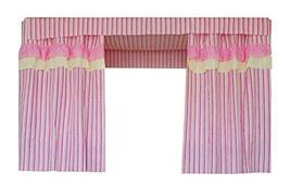 PANDA SUPERSTORE Bed curtain Dormitory Shading Cloth Dormitory Decoration PINK