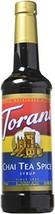 Torani Chai Tea Spice Syrup, 750 ml/25.4 oz
