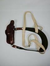 Ramrod Gun & Knife Shoulder Holster Fits a Small Frame Revolver - $40.00
