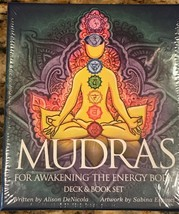 MUDRAS for awakening the Energy Body Deck and Book set NEW Sealed - $29.16