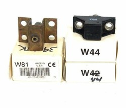 LOT OF 3 NIB ALLEN BRADLEY HEATER ELEMENTS W44, W81 image 1