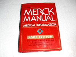 merk manual  of  medical information - $1.25