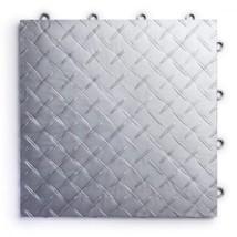 RaceDeck Diamond Plate Design, Durable Interlocking Modular Garage Floor... - £186.34 GBP