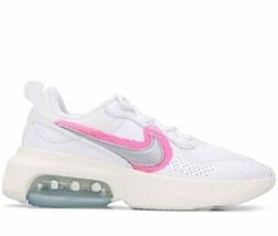 NIKE AIR MAX VERONA WHITE/SILVER-HYPER PINK TRAINERS WOMEN SHOES CZ8103-100 - $130.40