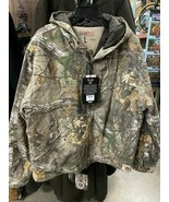 Silent Hide Red Head Camo Coat, Insulated, Hooded - $65.00