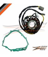 STATOR COIL AND GASKET FITS YAMAHA GRIZZLY 700 YFM700 2007 - 2015 07-15 - $46.98