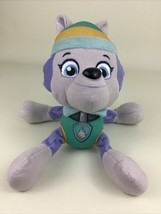 """Paw Patrol Live Everest Plush Stuffed 9"""" Toy Race To The Rescue 2016 Pup... - $16.00"""