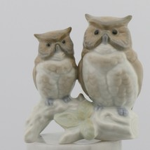 Vintage Otagiri Owls on Branch Novelty Japanese Animal Figurine - $8.96