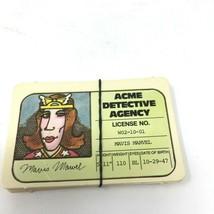 Vintage - Stop Thief Game Pieces 1979 - 8 Detective Licenses - Complete Set - $6.80