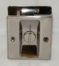 Cal Royal SDL16 Sliding Door Lock Privacy Satin Nickel Oxidized image 2