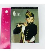 Manet Miniature Art Masters Gerhard Gruitrooy Mini Book Works of Art  - $19.79