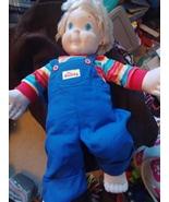 1986 Hasbro My Buddy Boy Doll Blonde Hair - $40.00