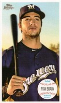 2011 Topps Lineage Giant Box Loaders #TG16 Ryan Braun Brewers NM-MT - $4.23