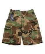 Polo Ralph Lauren Green & Brown Camouflage Cargo Shorts Camo  Men's NWT - $74.99