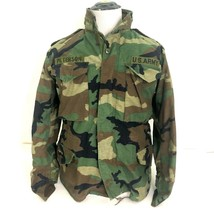 US ARMY Military Cold Weather Field Jacket Coat Camo m65 Small Short+ L... - $49.49