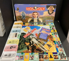 The Wizard of Oz Monopoly Board Game Collector's Edition 1998 100% Complete - $42.06