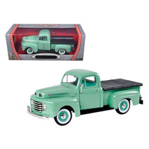1948 Ford F1 Pickup Truck Green 1/18 Diecast Model Car by Road Signature 92218gr - $46.99