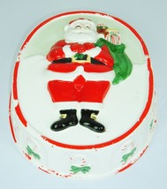 Vintage 1983 Santa Christmas Ceramic SIGMA TASTESETTER Mold Japan Kitsch... - $11.98