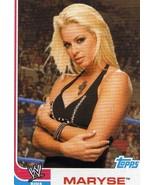 WWE Topps Heritage III Maryse Diva card WWF TNA Impact CMLL - $3.75