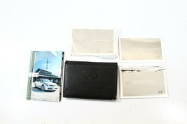 2005 INFINITI G35 SEDAN CAR OWNERS OPERATOR MANUAL BOOK SET WITH CASE P869 - $63.69