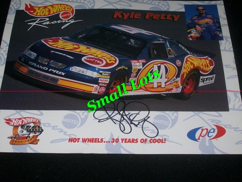 Autographed Hot Wheels # 44 Kyle Petty 1998