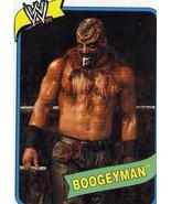 WWE Topps Heritage III Boogeyman wrestling card WWF TNA Impact CMLL ECW - $3.75