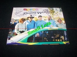 Autographed Richard & Kyle Petty Spree Racing  - $450.00