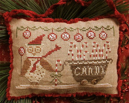 Delivery Peppermints and Candy Canes cross stitch chart Homespun Elegance - $7.20