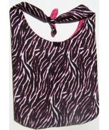 Pink Zebra Design Custom Made One Piece Adjustable Strap Tote Handbag Ca... - $24.95