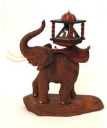 Dreidel  Elephant - Hanukkah,STERLING SILVER,EBONY,JUDAICA, JERUSALEM,IS... - $2,123.00