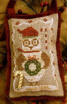 Owls Love Christmas Too cross stitch chart Homespun Elegance - $6.75
