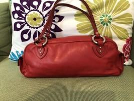 Marc Jacobs  Red  Leather Shoulder Bag - ₨8,860.94 INR