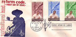 Agricultural Land REFORM CODE of the Philippines 1st Day Of  - $1.95