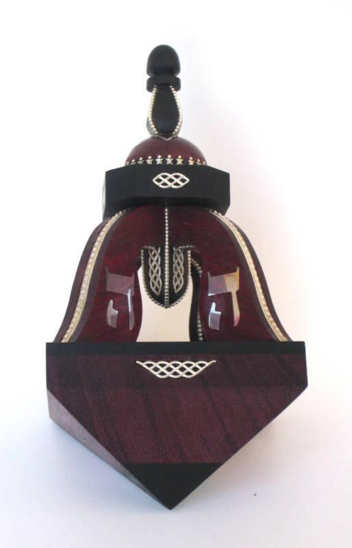 "DREIDEL ""BELL"" (Purple Heart) for the Hanukkah"