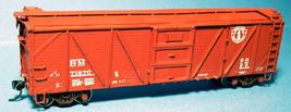 Funaro & Camerlengo HO B&M  XM-1 SS Boxcar Reverse Creco Door One Piece Body 601 image 2