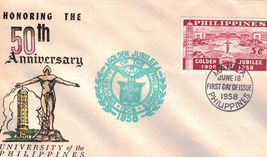 Honoring the 50th Anniversary University of the Philippines  - $1.95