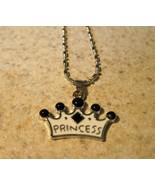 NECKLACE & PENDANT CHILDS PRINCESS CROWN #811 - $7.99
