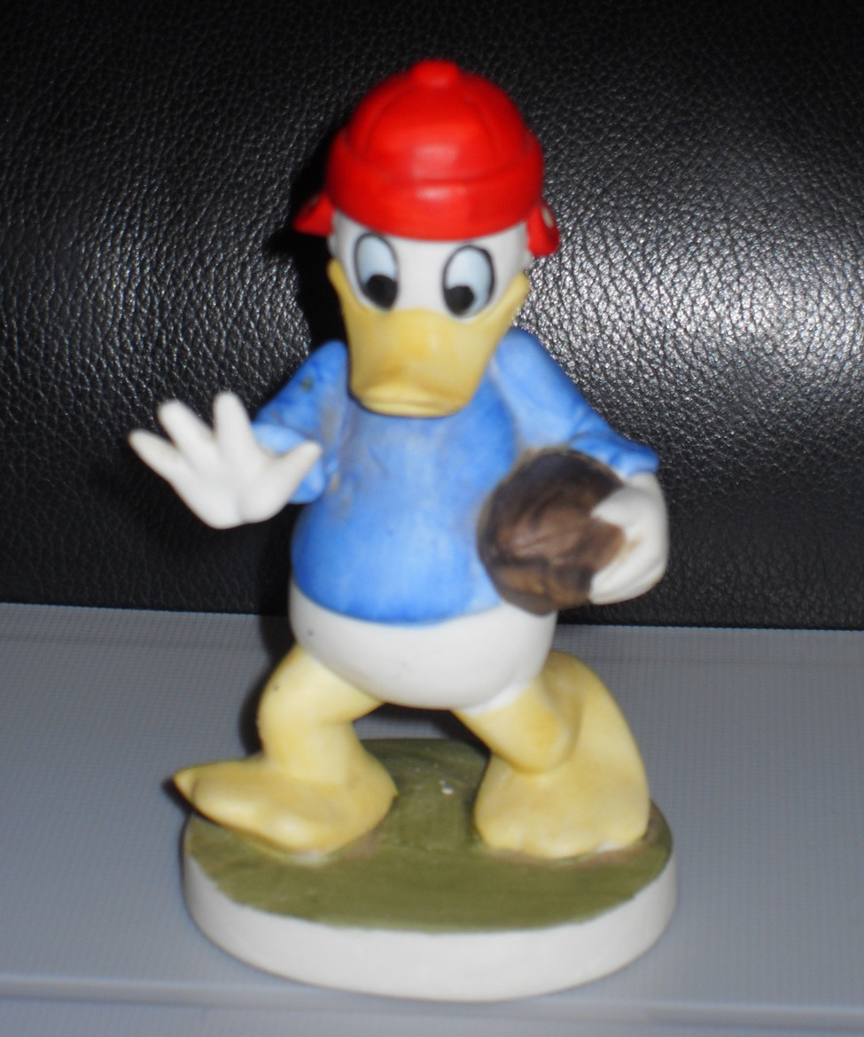 Primary image for Disney Donald Duck Playing Football Porcelain Figurine